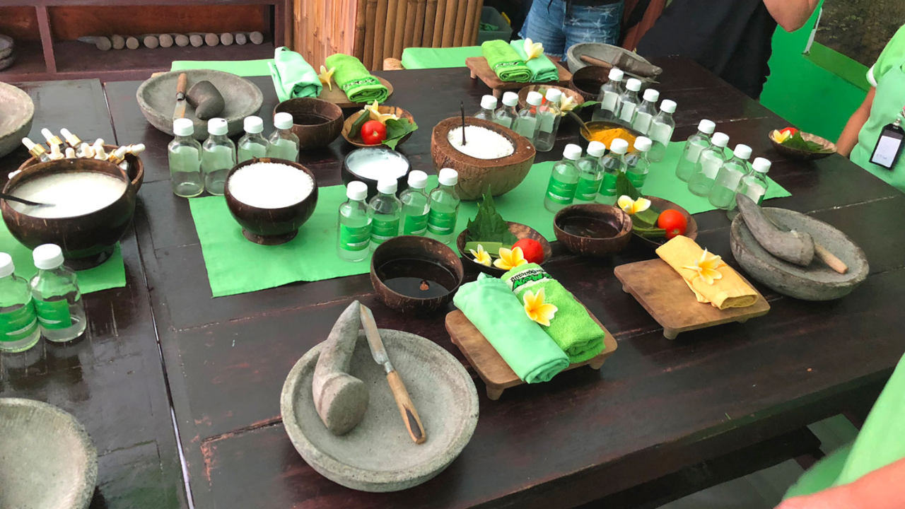 Manufacture of natural cosmetics
