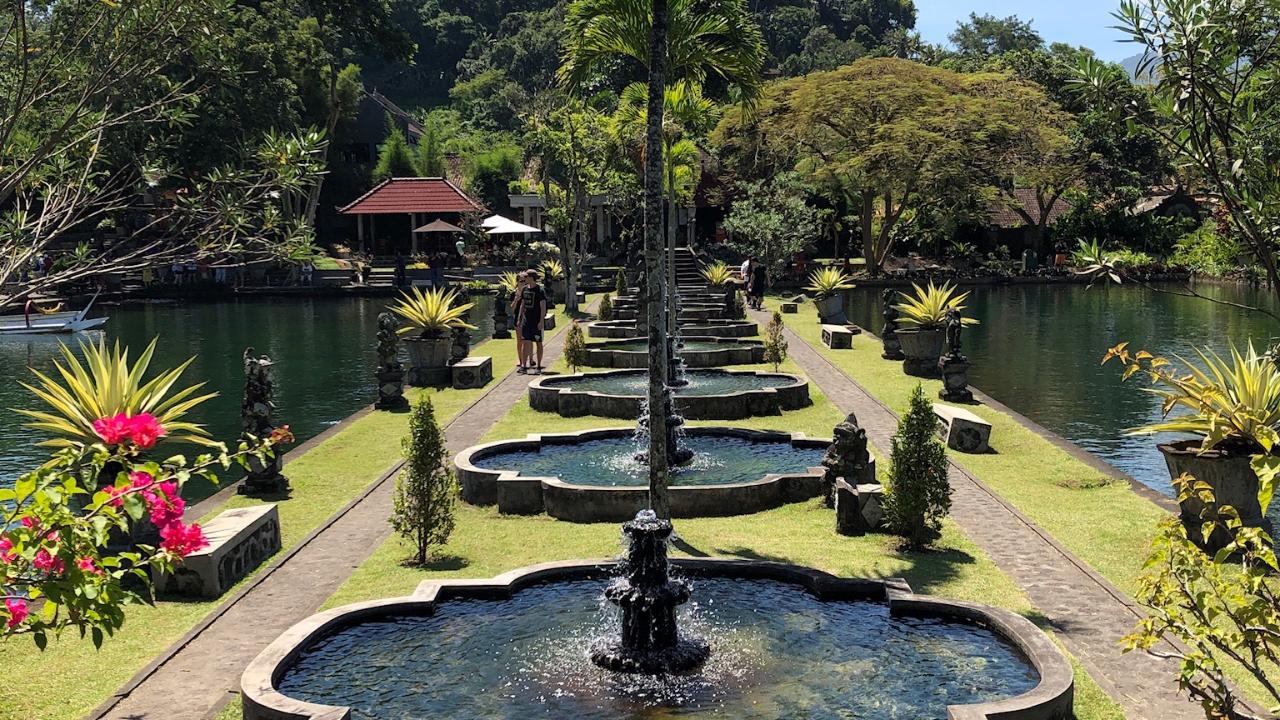 Tirta Gangga water temple Bali
