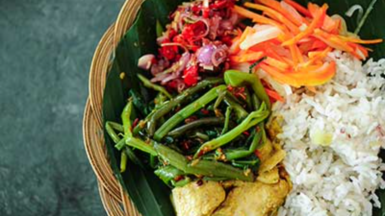 Balinese Coconut and anchovy sambal