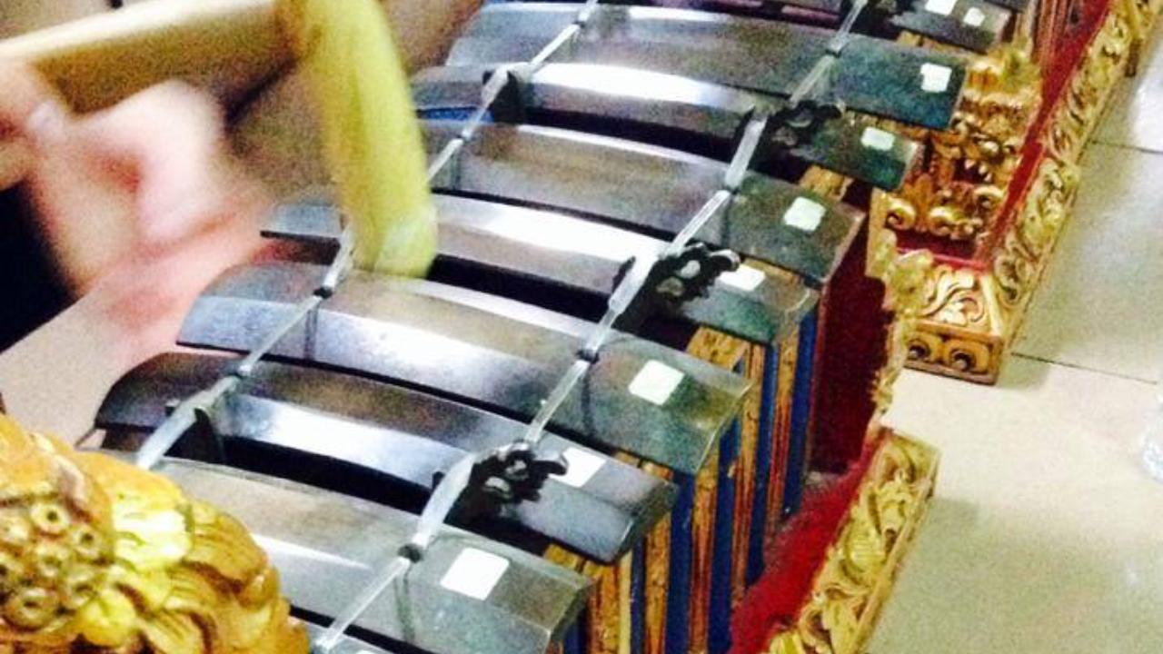 Balinese Gamelan instruments