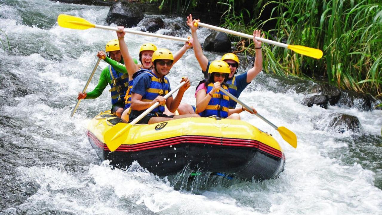 Ayung river rafting near Ubud, Bali