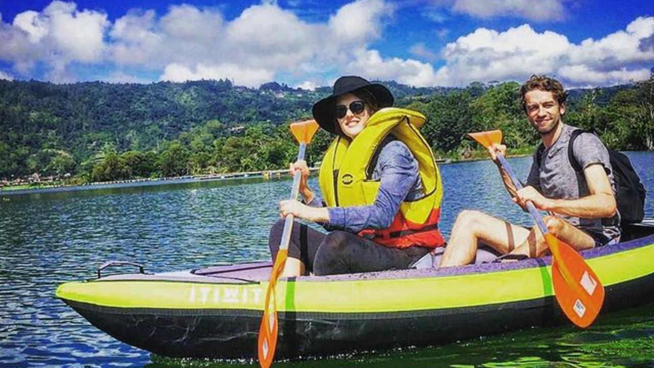 Canoeing on Bali